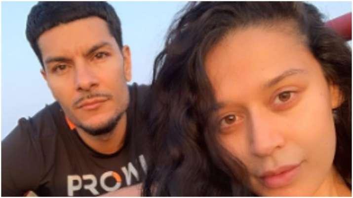 Tiger Shroff's sister Krishna poses with boyfriend Eban