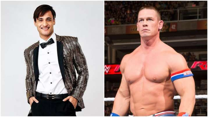 Bigg Boss 13: Wrestler John Cena shares Asim Riaz's picture