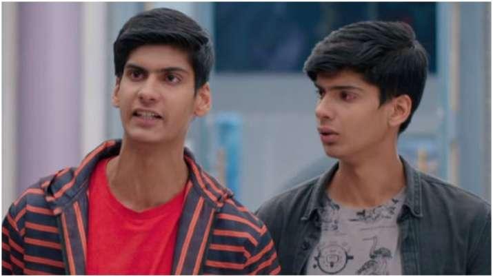 Kartik thrashes Luv and Kush in Yeh Rishta Kya Kehlata Hai
