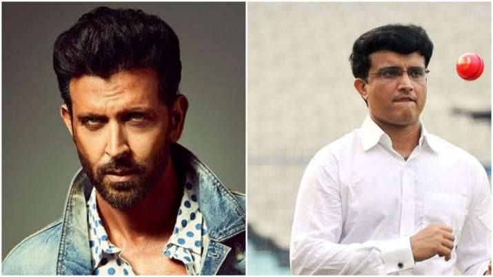 Hrithik Roshan to play cricketer Sourav Ganguly in biopic?
