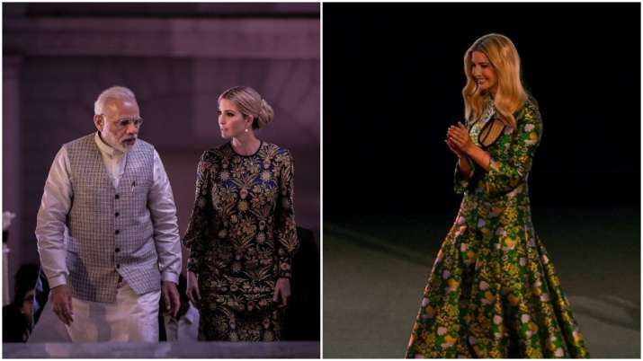 Ivanka Trump's fashion statement during her India visit in