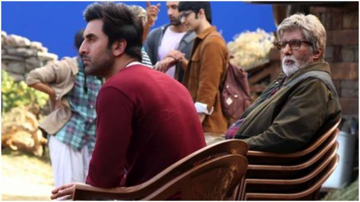 Amitabh Bachchan reveals how he keeps up with 'enormous talent' Ranbir Kapoor during Brahsmastra sho