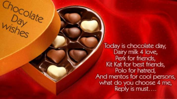 Happy Chocolate Day 2020 Quotes Hd Images Wallpapers Greetings Whatsapp Messages And Facebook Status Relationships News India Tv