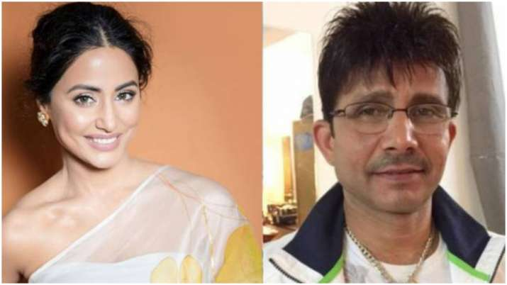 Hina Khan on Twitter war with Kamaal R Khan: High time we lift each other