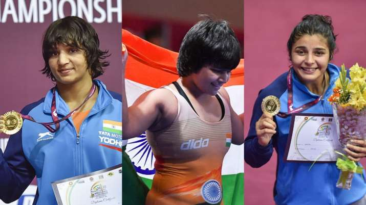 Indian women dominate with 3 gold at Asian Wrestling Championship