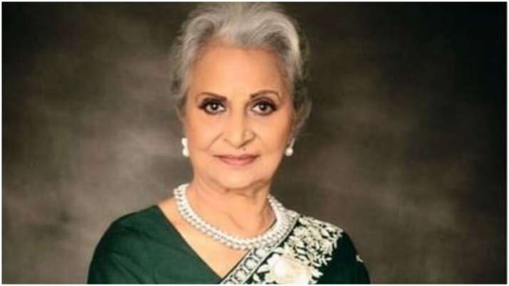 Waheeda Rehman to be conferred MP govt's Kishore Kumar