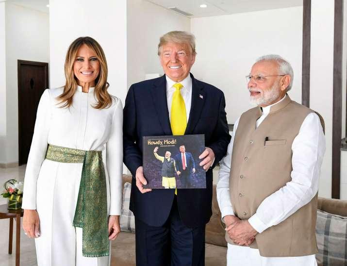 India Tv - Prime Minister Narendra Modi with US President Donald Trump