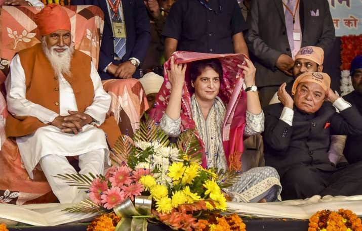 Priyanka offers prayers at Ravidas temple in Varanasi, says