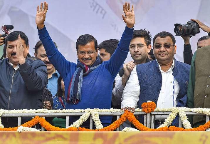 AAP MLAs elect Arvind Kejriwal as leader of legislature party