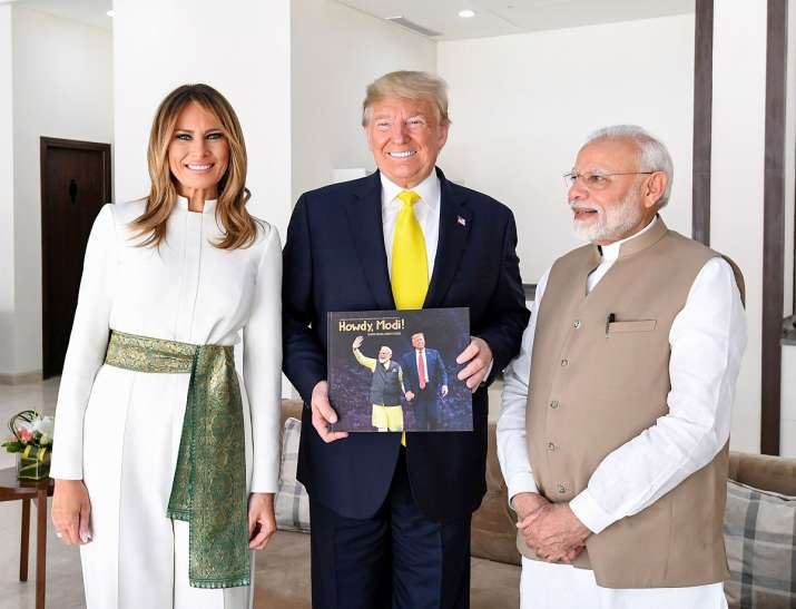 India Tv - Donald Trump India visit Day 2