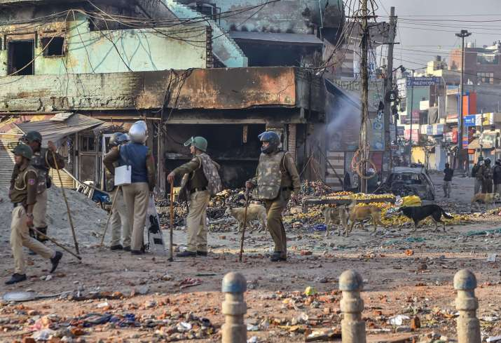 Curfew in northeast delhi as death toll reaches 13