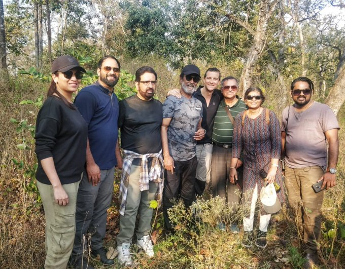 India Tv - Rajinikanth visited Karnataka's Bandipur Tiger Reserve to shoot for the Discovery channel's new prog