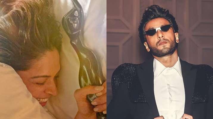 Ranveer Singh shares what Deepika Padukone did when he got his 'black lady' home