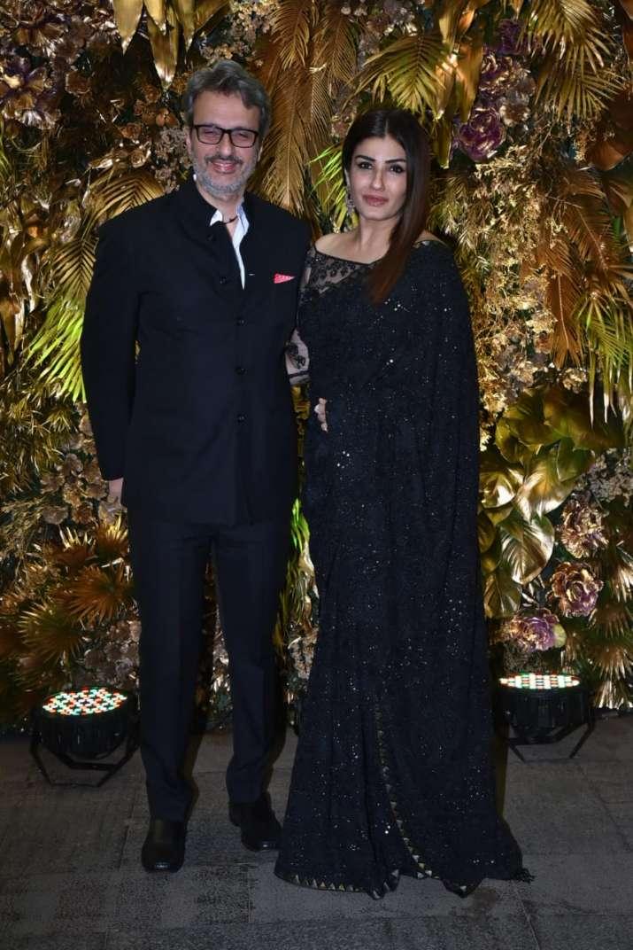 India Tv - Raveena Tandon and husband Anil Thadani