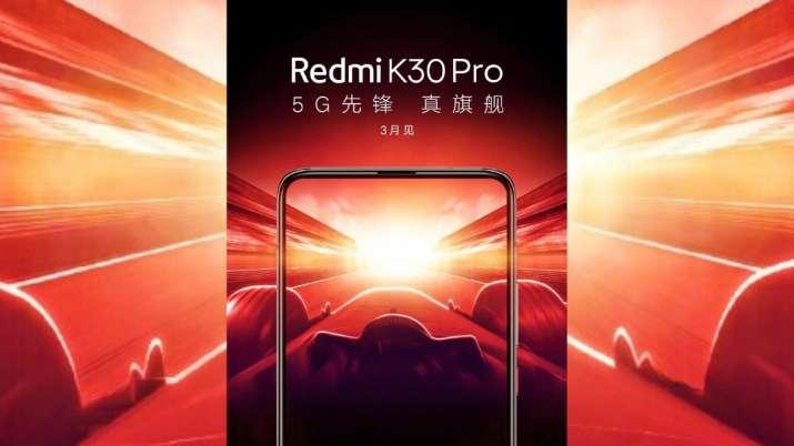 India Tv - xiaomi, xiaomi redmi k30 pro 5g, redmi k30 pro 5g launch, redmi k30 pro 5g features, redmi k30 pro 5