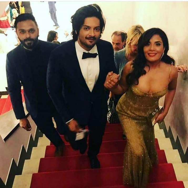India Tv - Richa and Ali