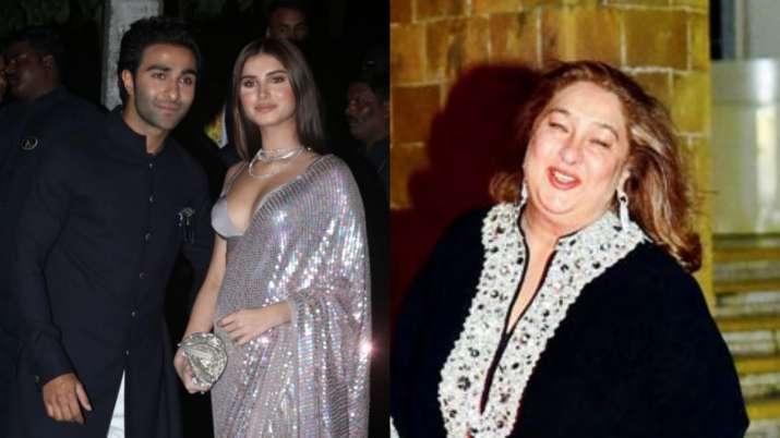 Aadar Jain's mom Rima accepts Tara Sutaria as his girlfriend, says, 'We love anybody our son loves'