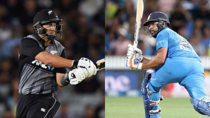 rohit sharma, ross taylor, rohit sharma 100 innings, ross taylor 100 t20is, india vs new zealand, in
