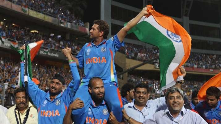 Still get goosebumps thinking about 2011 World Cup win: Sachin Tendulkar