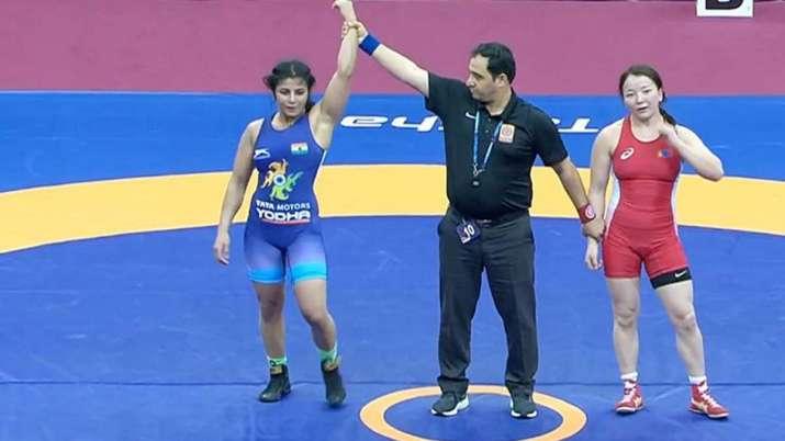 Sarita Mor, Pinki seal gold medal at Asian Wrestling Championships