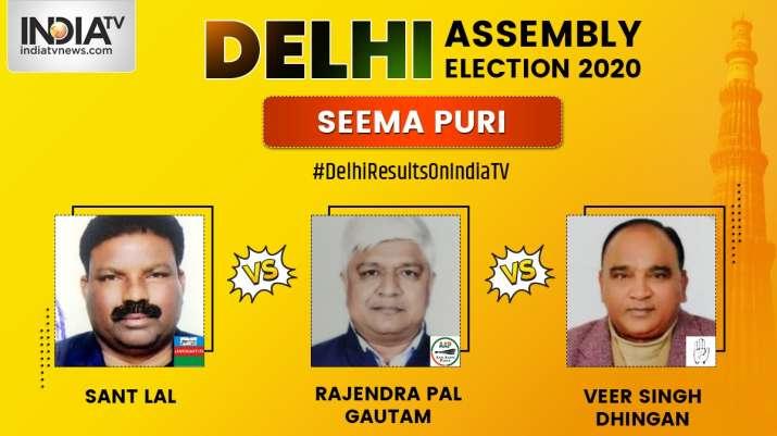 Seemapuri Constituency Result Live Aap S Rajendra Pal Gautam Wins