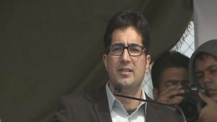 Shah Faesal, former civil servant and chief of Jammu &