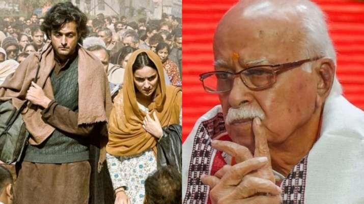 Shikara makes LK Advani emotional