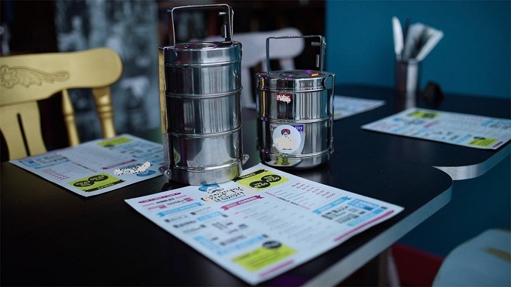 Indian-origin restaurateur uses steel tiffins on recycling mission in UK