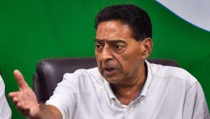 A file photo of Subhash Chopra
