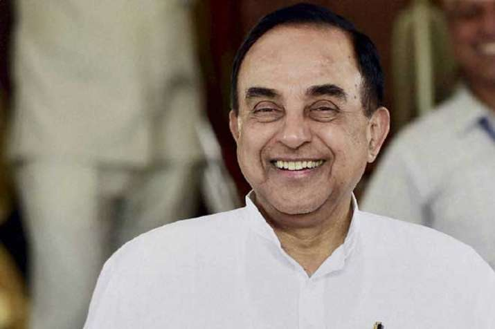 A file photo of BJP MP Subramanian Swamy
