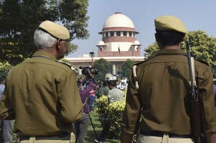 Bag with mike and power bank recovered from Supreme Court premises
