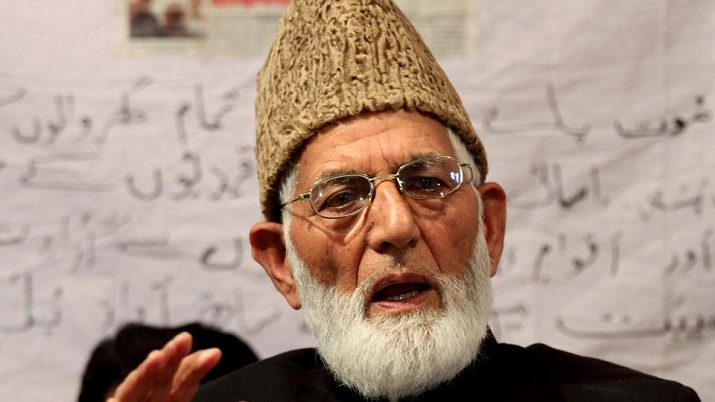 Syed Ali Shah Geelani/File