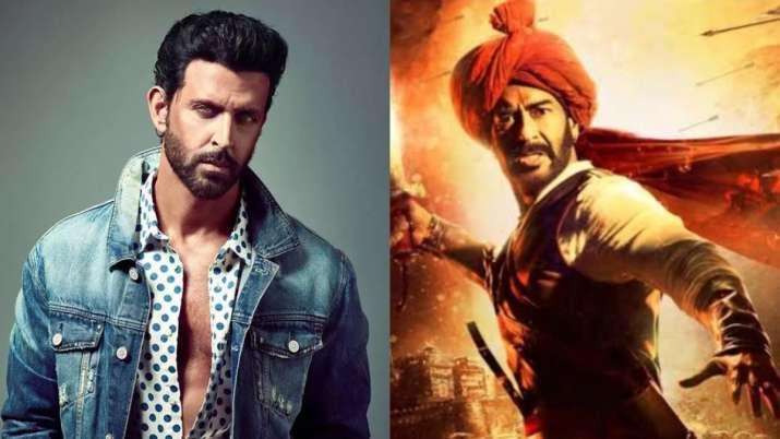 Hrithik Roshan impressed with Ajay Devgn-Kajol's Tanhaji The Unsung Warrior