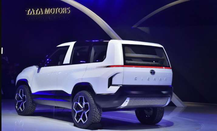 Tata Motors Sierra, during the Auto Expo 2020 in Greater Noida, Wednesday, Feb. 5, 2020.