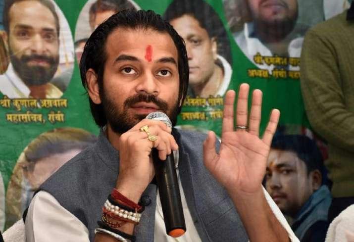 A file photo of Tej Pratap Yadav