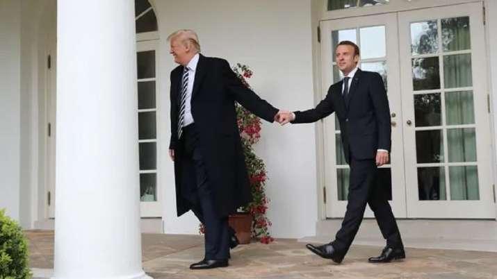 India Tv - Trump handshake moments
