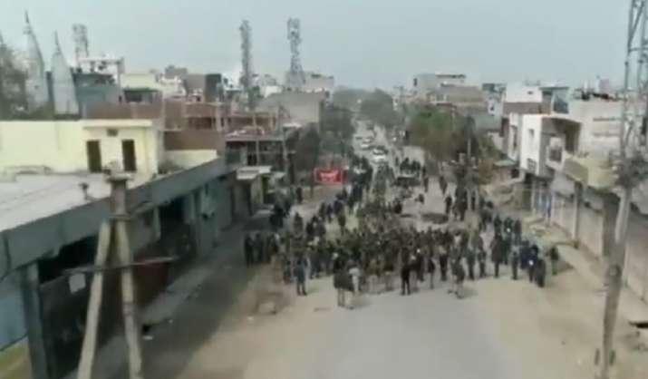Drone visuals show violence-hit areas of Northeast Delhi