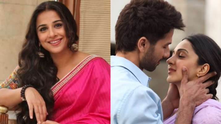 Vidya Balan comes out in support of Kabir Singh