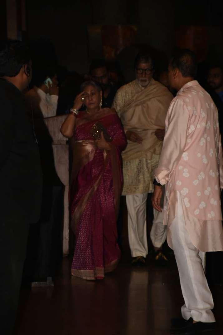 India Tv - Amitabh Bachchan and Jaya Bachchan