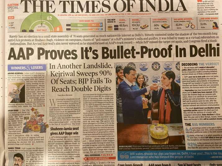 India Tv - Times of India