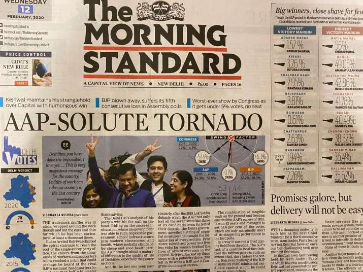 India Tv - The Morning Standard