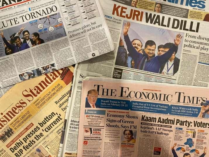 League of Extraordinary Headlines: Newspapers react to Kejriwal's 'AAP-solute Tornado' in Delhi