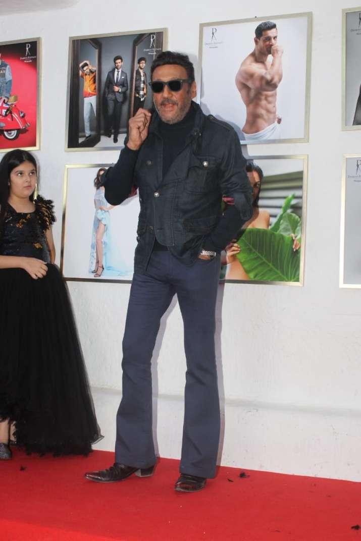India Tv - Jackie Shroff at Dabboo Ratnani Calendar launch