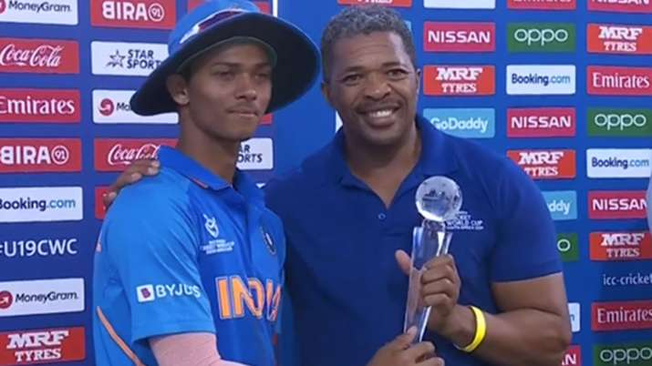 Yashasvi Jaiswal's U-19 WC man of the tournament trophy breaks into two pieces