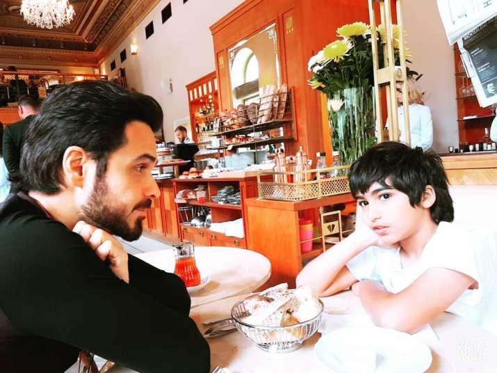India Tv - Emraan with son Ayaan