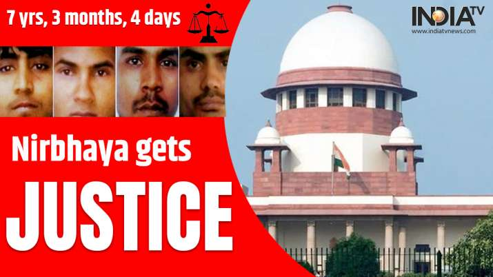NIRBHAYA GETS JUSTICE: ALL FOUR CONVICTS HANGED TILL DEATH