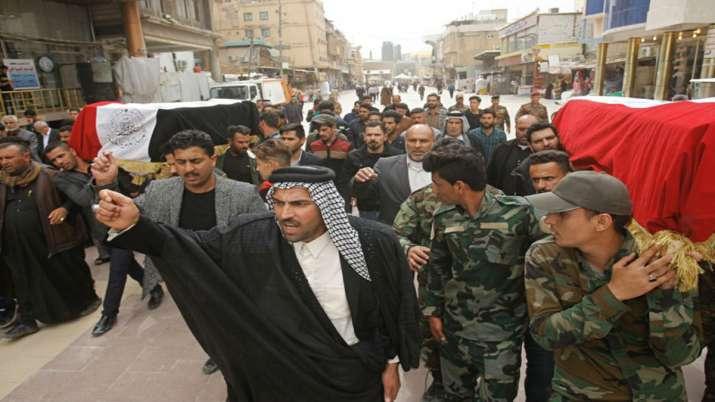 At least 3 rockets strike Baghdad's Green Zone, fourth