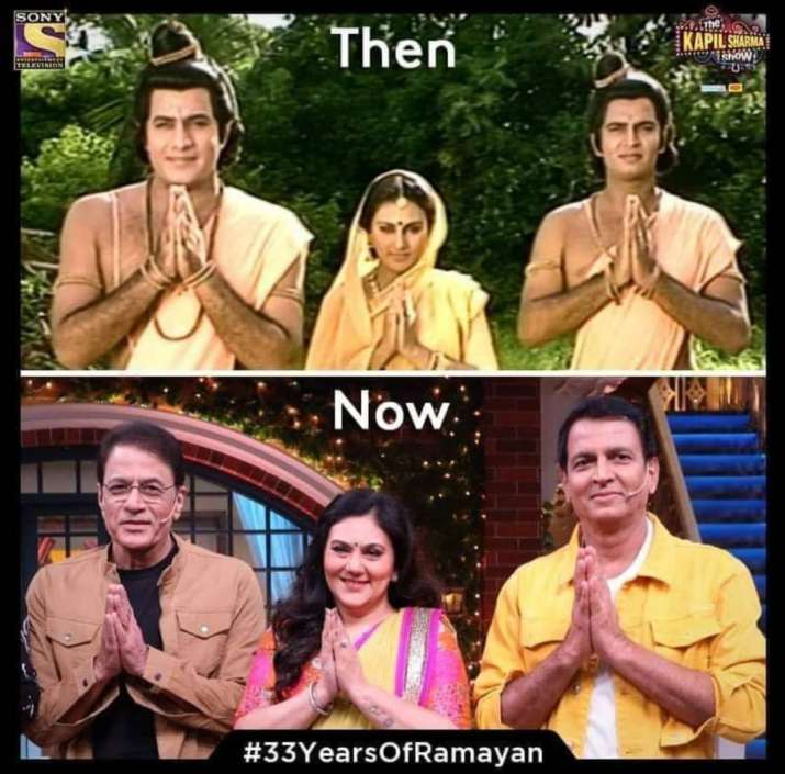 India Tv - Ramayana cast then and now