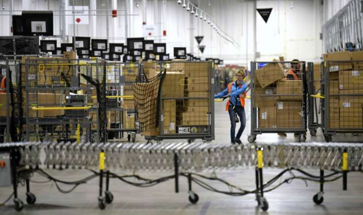 Amazon to hire 1 lakh workers to keep up with surge in orders amid coronavirus shutdowns
