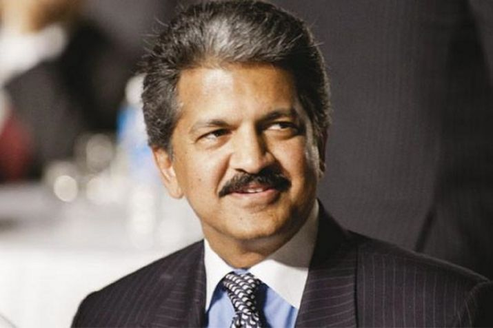 Anand Mahindra's picture with 'real Iron Man' not the